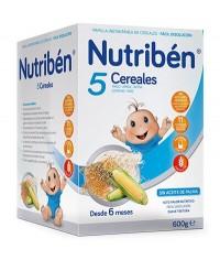 NUTRIBEN 5 CEREALES 600 GRAMOS