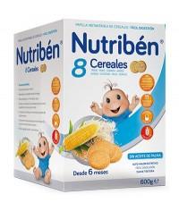 NUTRIBEN 8 CEREALES 600 GRAMOS
